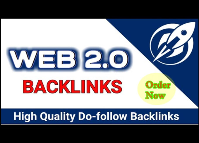 I will rank your blog with authority web 2 0,  50 backlinks
