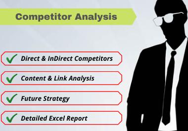 I will Do Comprehensive SEO Competitor Analysis