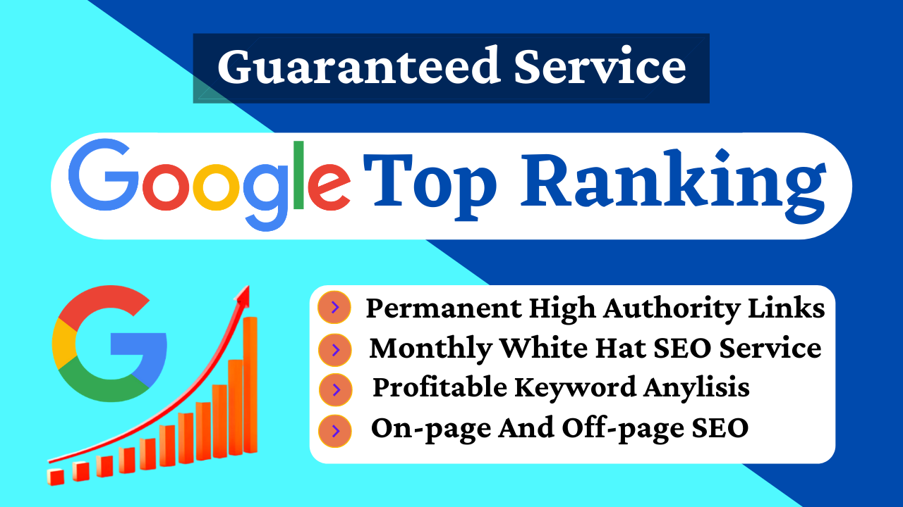 Rank Your Website on Google 1st Page Guaranteed,  Manually Backlinks Only Boost Your Website