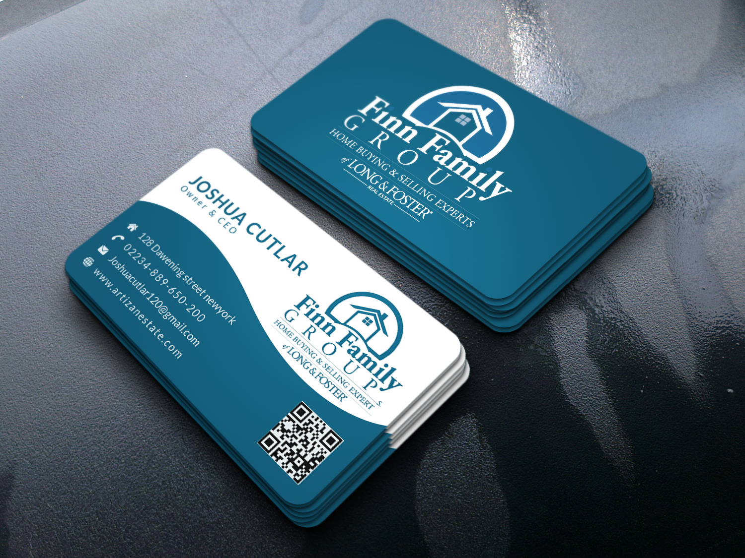 I can create a business card for you within 6 hours.