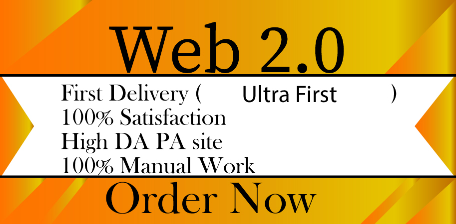 I will create 10 web 2. 0 high authority Dofollow web research backlinks