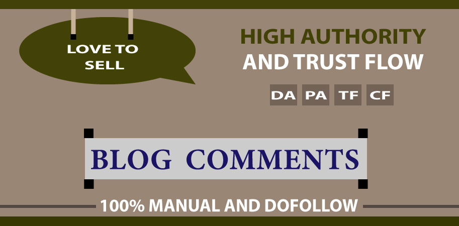 I Will Manually Provide 50 Dofollow Blog Comments On High Authority Site