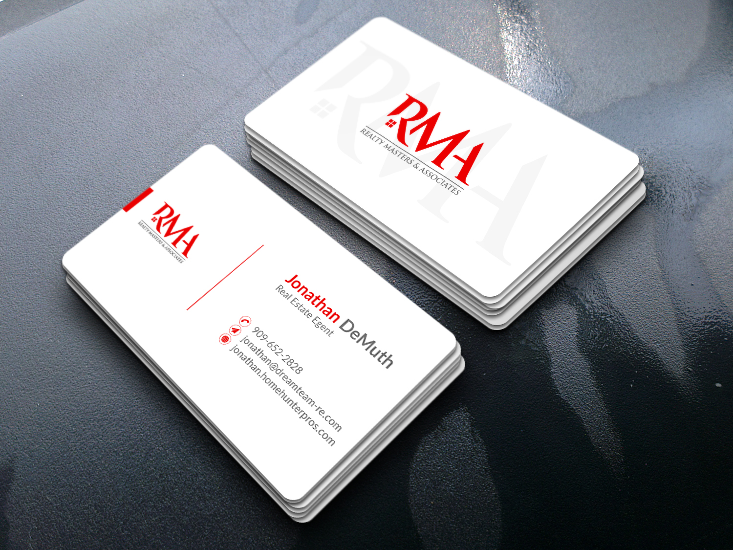 I will do Professional dual sided business card design
