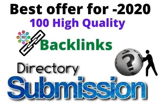 I Will do 100 Directory Submission High PR sharing site within 24 Hours