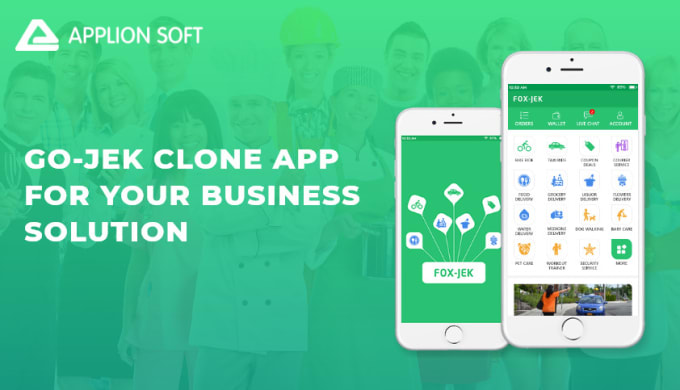 I will develop Gojek clone app,  taxi App,  Uber eat App