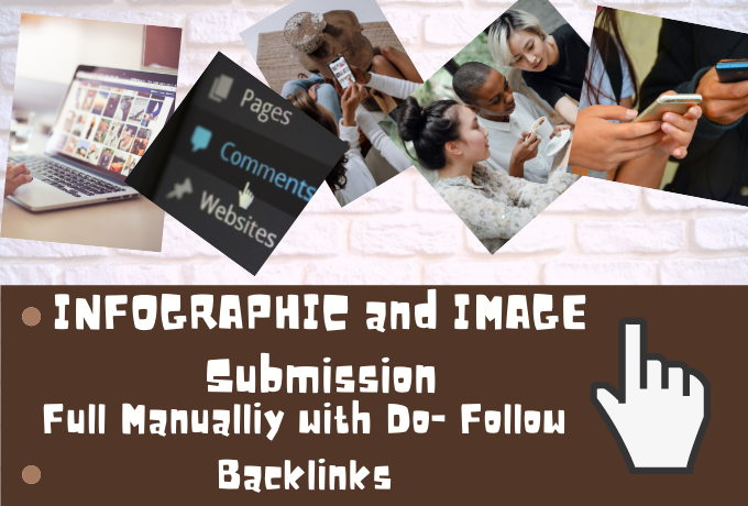 I will do 25+ Image and Infographic Submission Manually