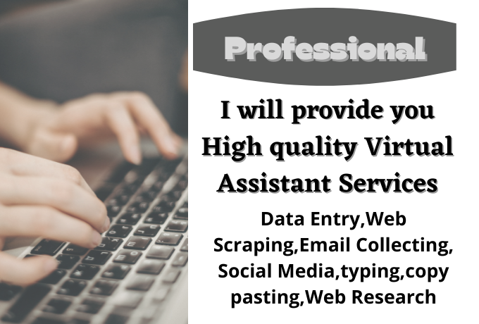 I will provide HQ Virtual Assistant Services