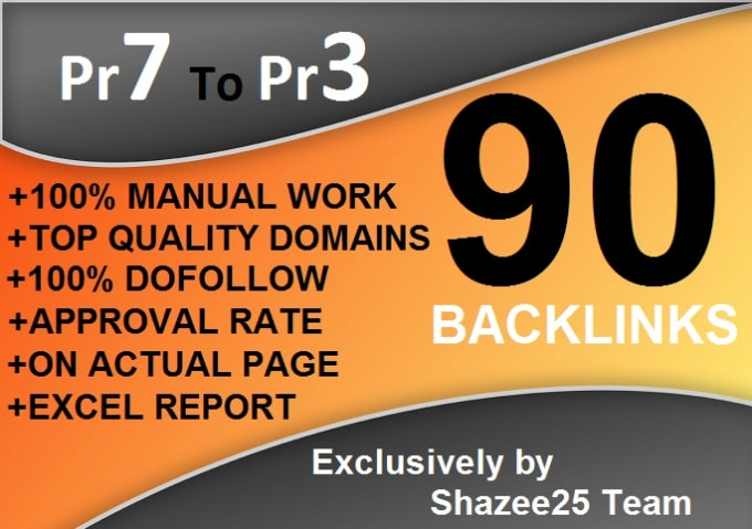 I will create 90 dofollow backlinks blog comments on actual page pr7 to pr3