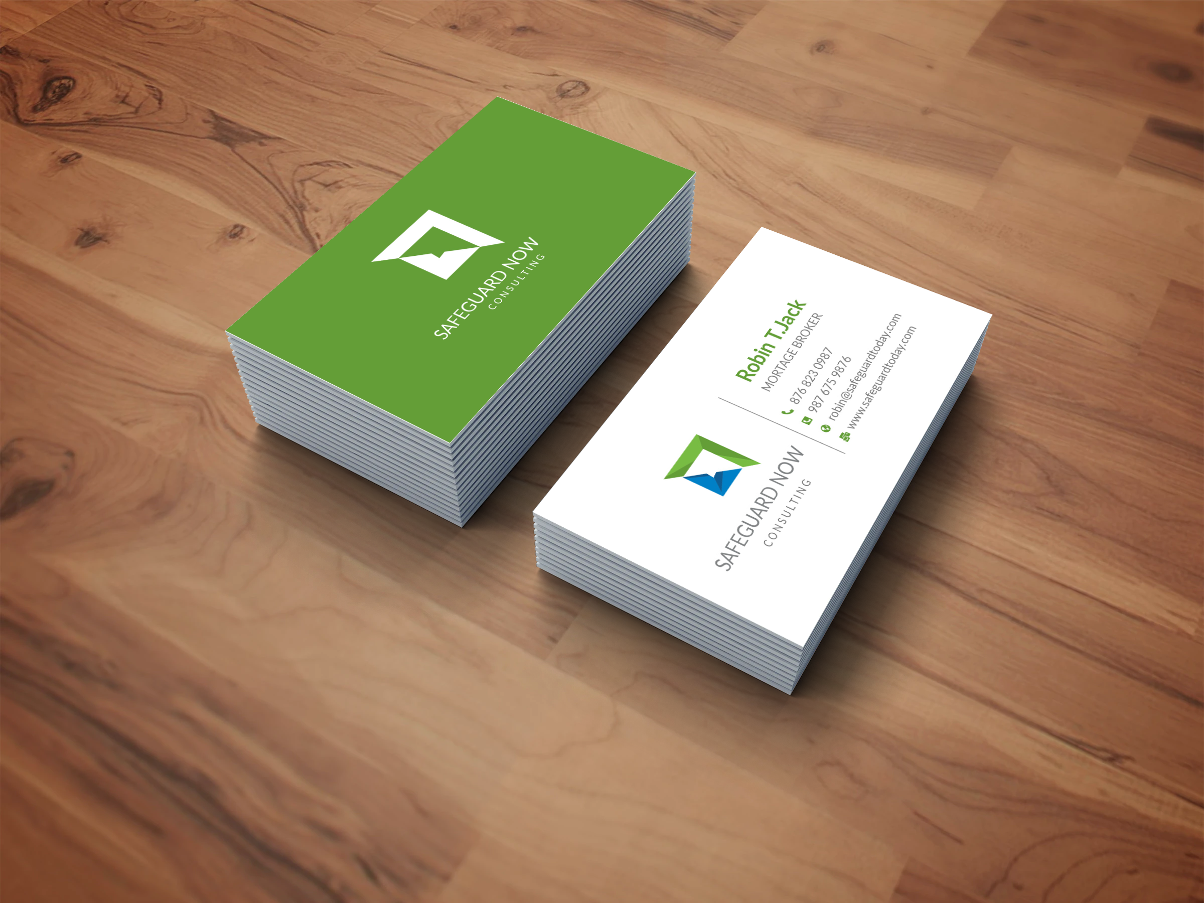 I will create minimalist business card design and logo design for you within 24 Hours