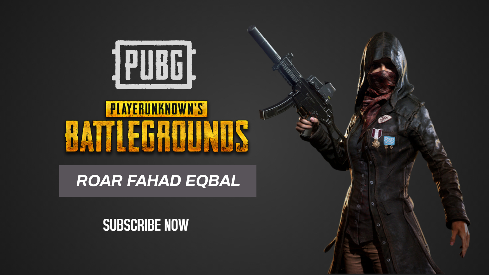 I will make professional pubg Youtube gaming thumbnails