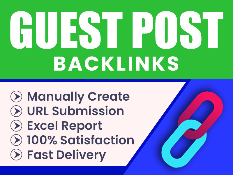 I will rank your website by 1 high da guest posts backlinks