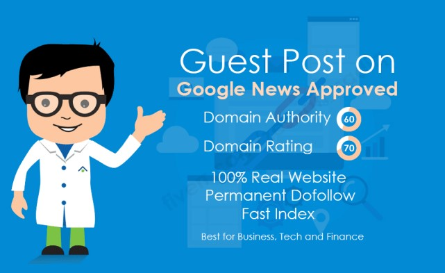 I will provide guest post on Multi Niche Google News Approved Website