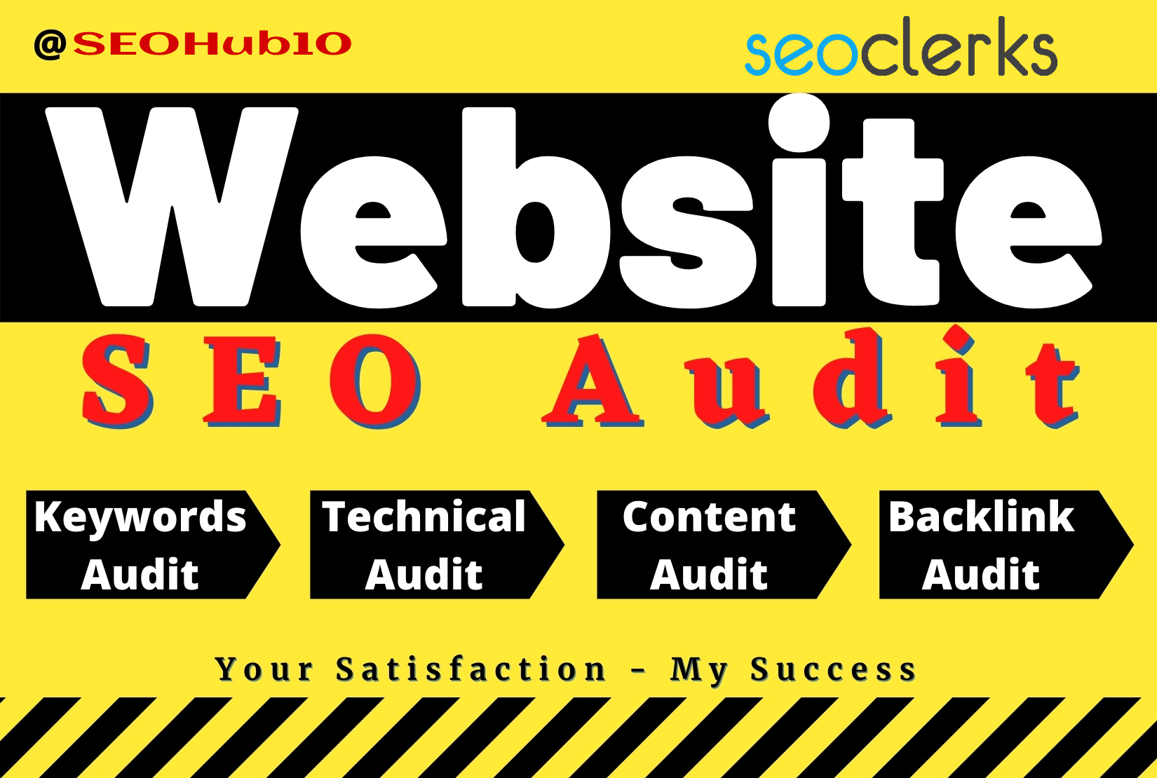 I will do complete website seo audit and provide an expert report