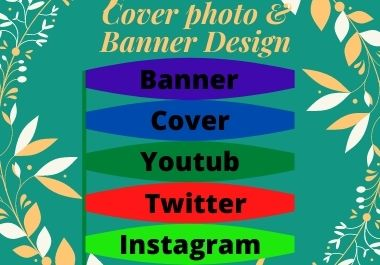 I will design an attractive Facebook cover photo design,  Banner design and social media post