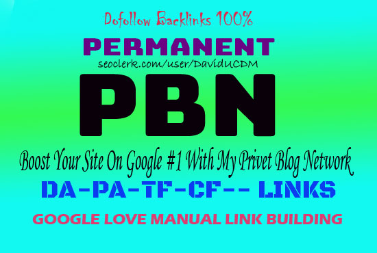 2021 Latest 50 Homepage Permanent PBN Dofollow backlinks