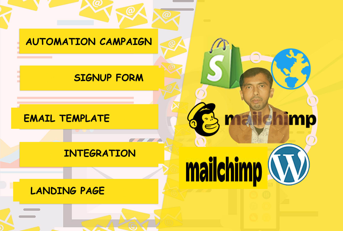 I will create a responsive Mailchimp email template,  campaign