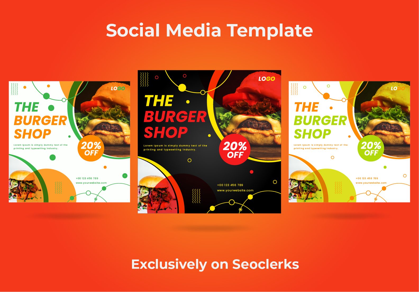 I will design awesome social media post,  cover,  banner and header