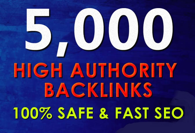 I will boost your website ranking with 5000 high authority backlinks
