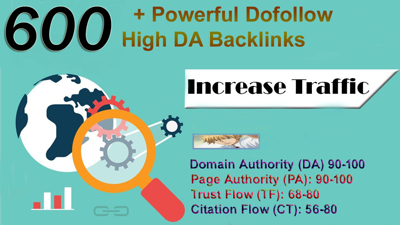 I will boost your google ranking with 600 powerful SEO dofollow backlinks