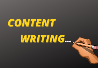I will Write 5× 500 Words SEO Friendly Content