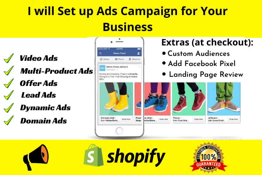 I will be your facebook ads manager for your business growth