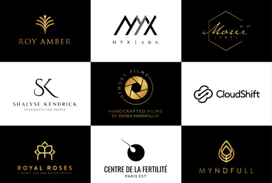 I will design a professional,  unique,  modern,  minimalist and luxury logo
