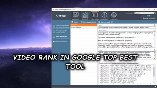 video top best software video rank in google, yahoo,,youtube and bing etc