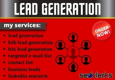 I'll collect b2b leads for your business purpose