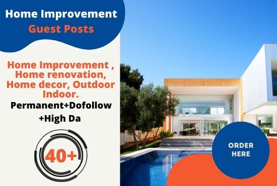 I will do high da home improvement guest post
