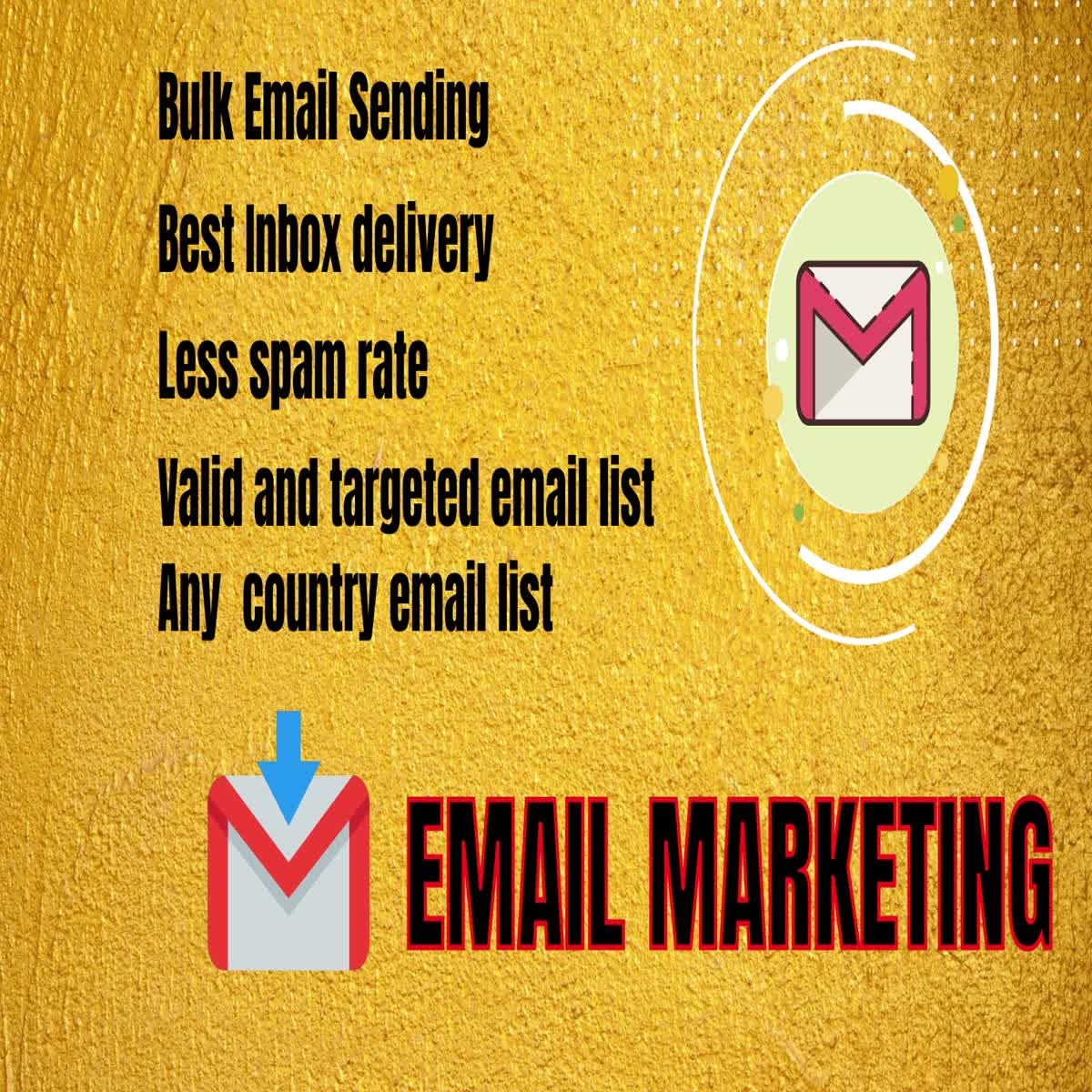 I will collect 3000 bulk email for your email marketing