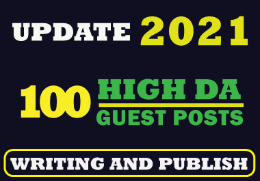 I will write and publish 25 guest posts and 30 profile creation backlink on high DA sites