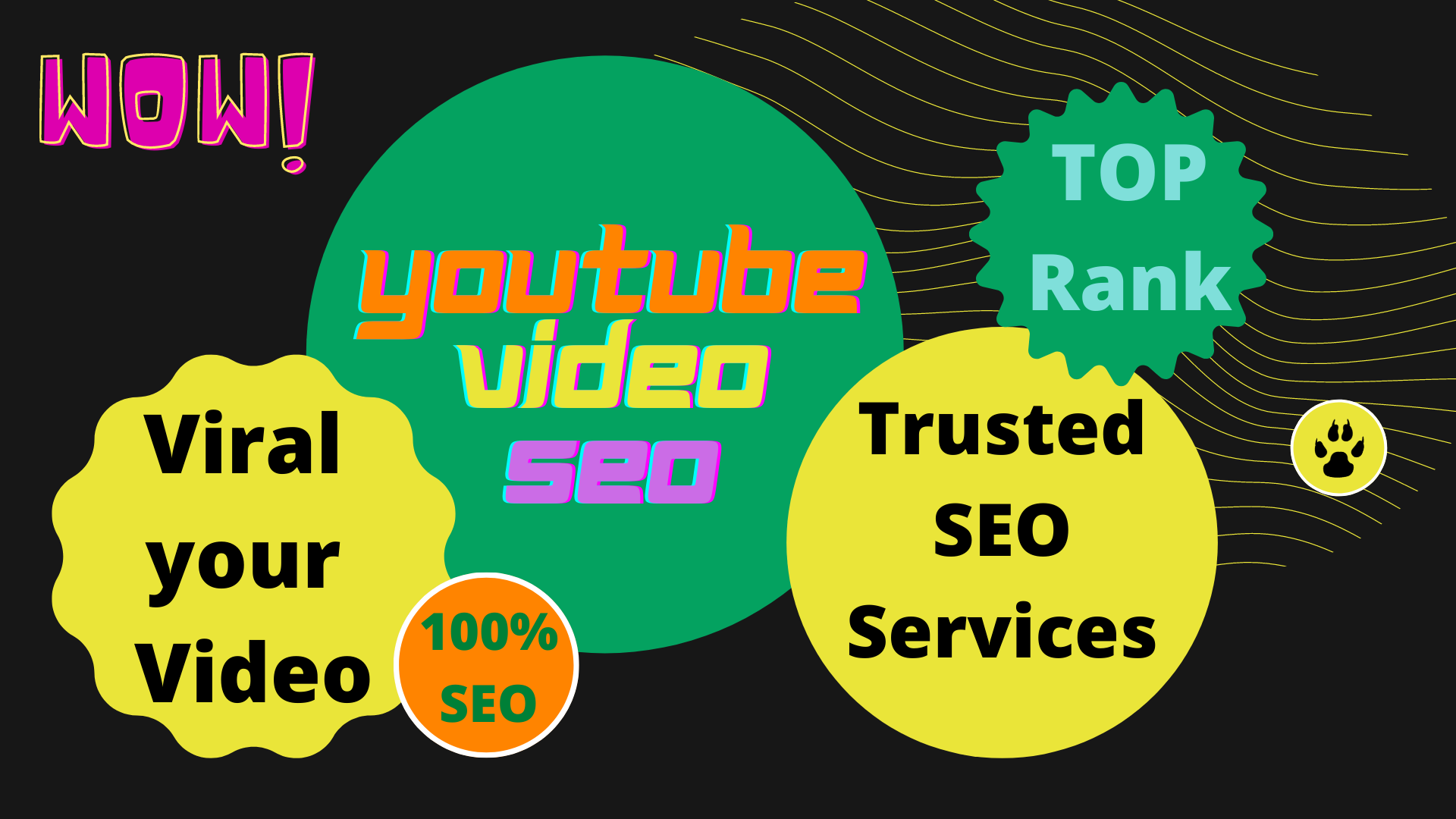 I will do YouTube video SEO,  video title,  tags to improve ranking