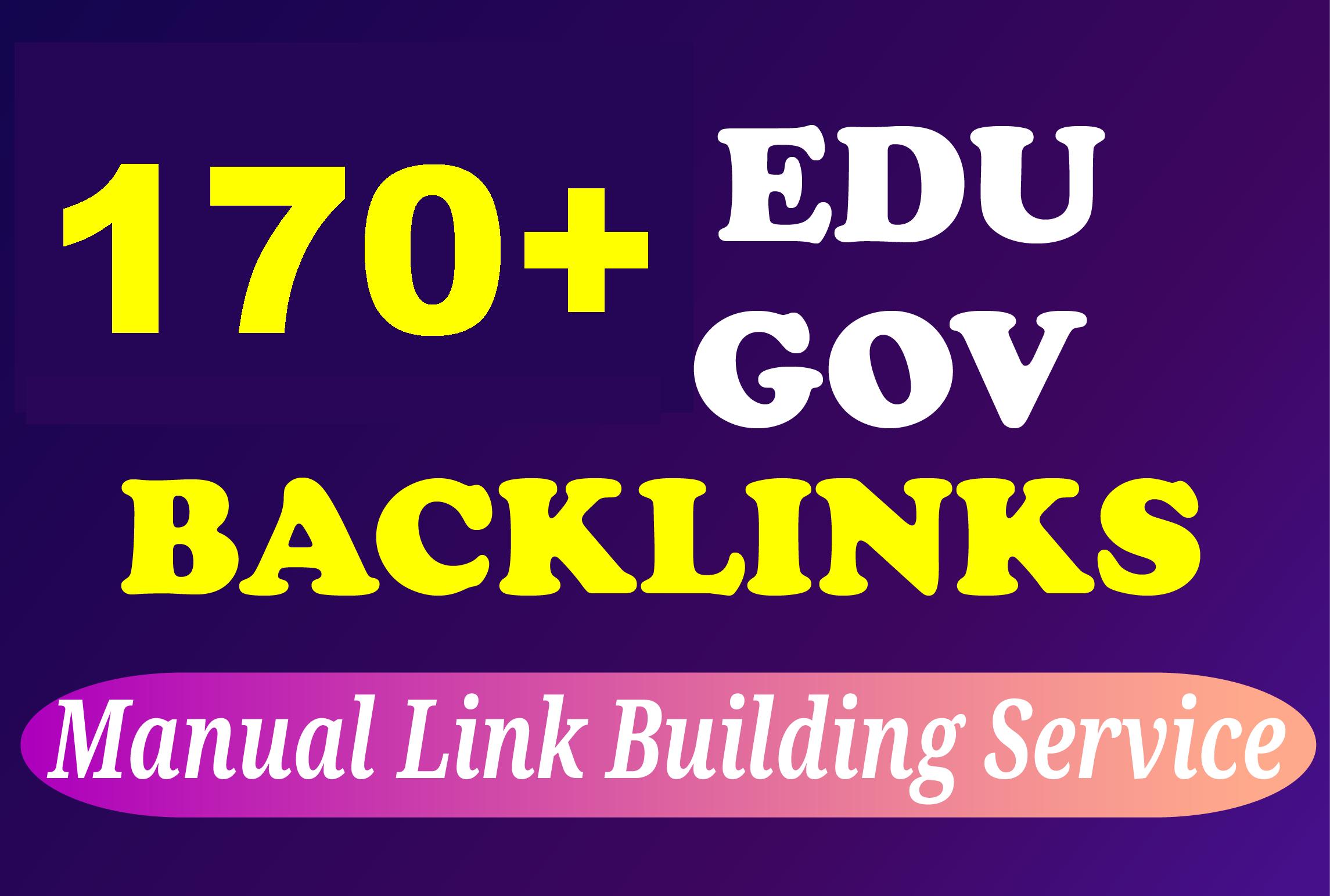 High DA PA 170+ Edu and Gov Backlinks
