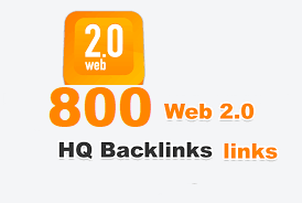 High PR 800 Web 2.0 profiles Backlinks