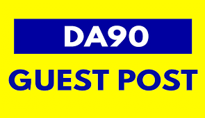 All Backlinks from DA90 Site 5 Guest Post On Da90+ Sites