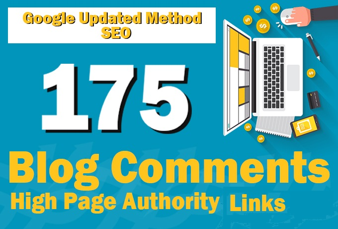 HIGH Quality 175 BLOG COMMENTS BACKLINKS For google ranking