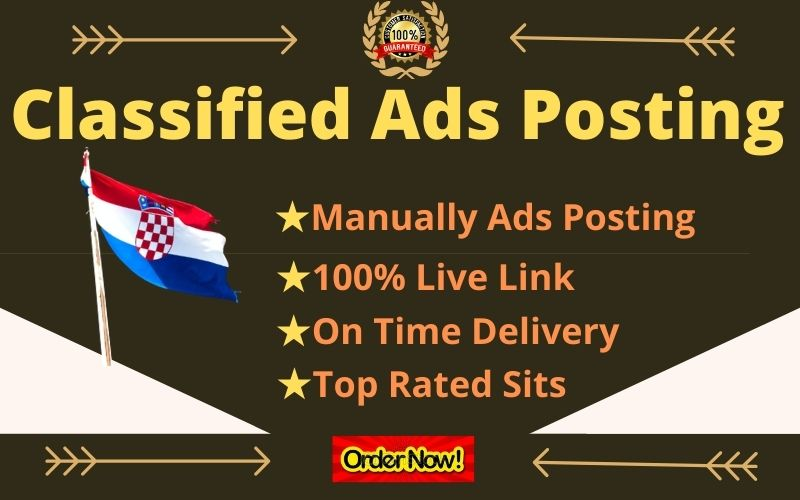 I Will Create Manually 50 Post Your Ads on USA,  UK,  CANADA,  AUSTRALIA,  Classified Ad Posting Sites