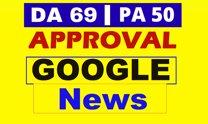 High Quality Guest Post on Google News Approved Website DA 69