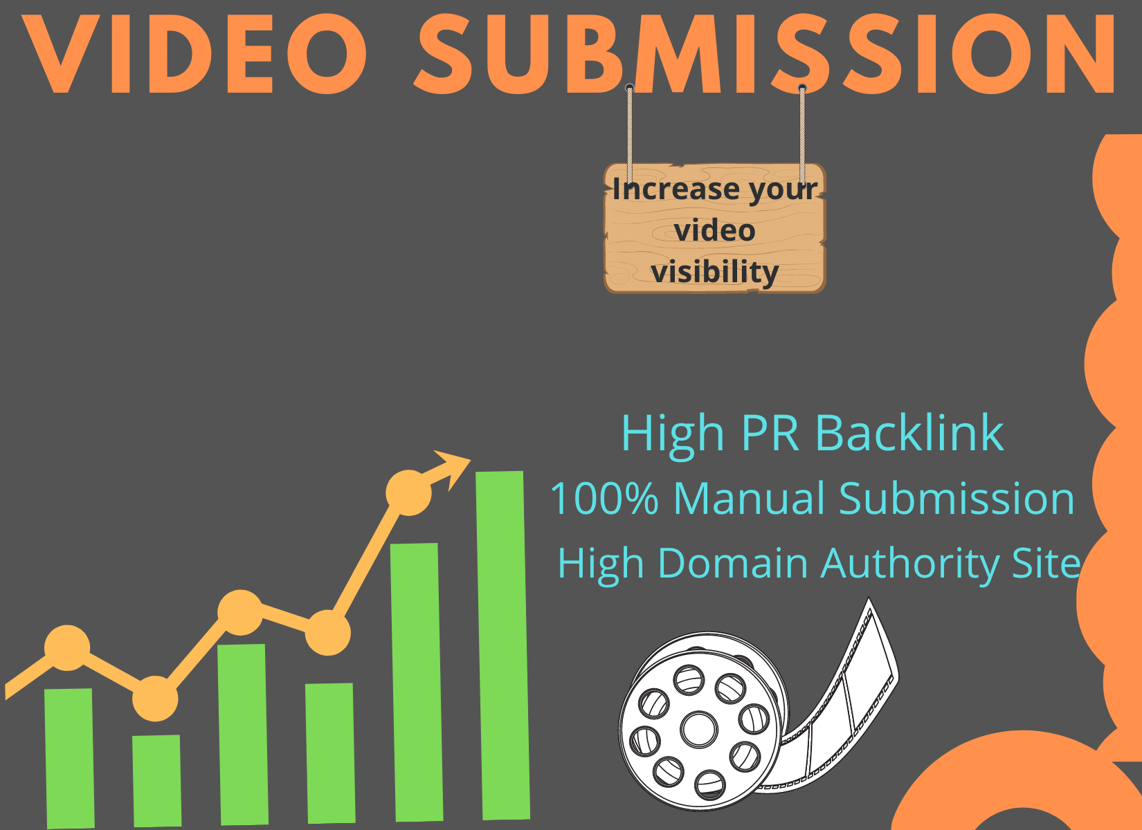Manually upload or submit video on top 25 video submission sites