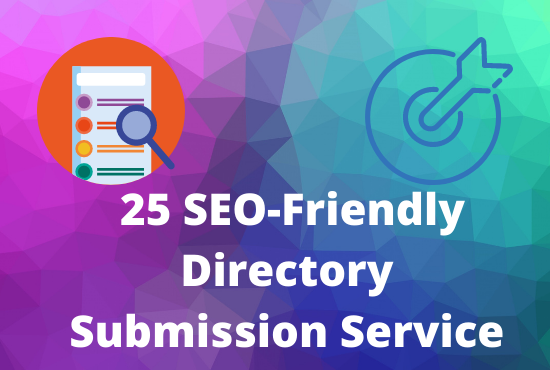 25 SEO-Friendly Directory Submission Service