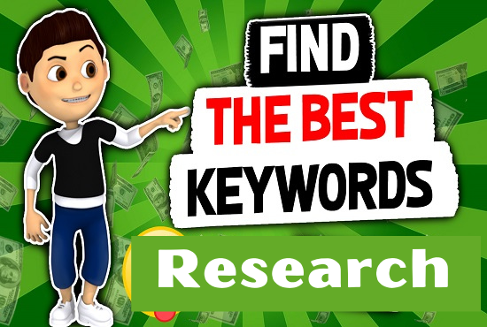i will do best long tell SEO keyword research and competitor analysis