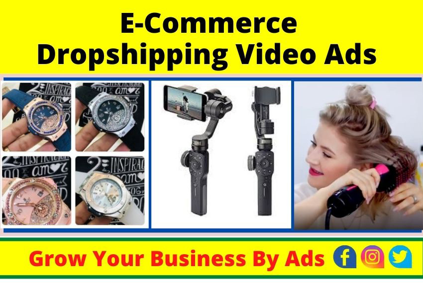 I will create dropshipping video ads for shopify on facebook