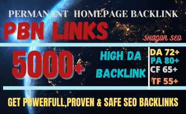 GET 5000 web 2.0 pbn DOFOLLOW BACKLINK high DA/PA with DA 80+ PA 85+ with unique Backlink