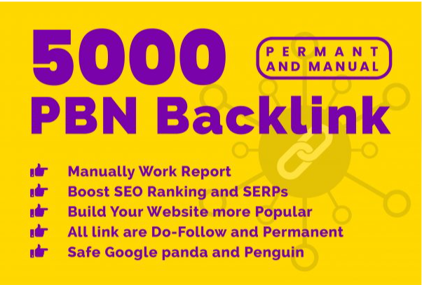 Buy extream 5000 permanent PBN backlink with high DA/PA/TF/CF on your homepage with unique website