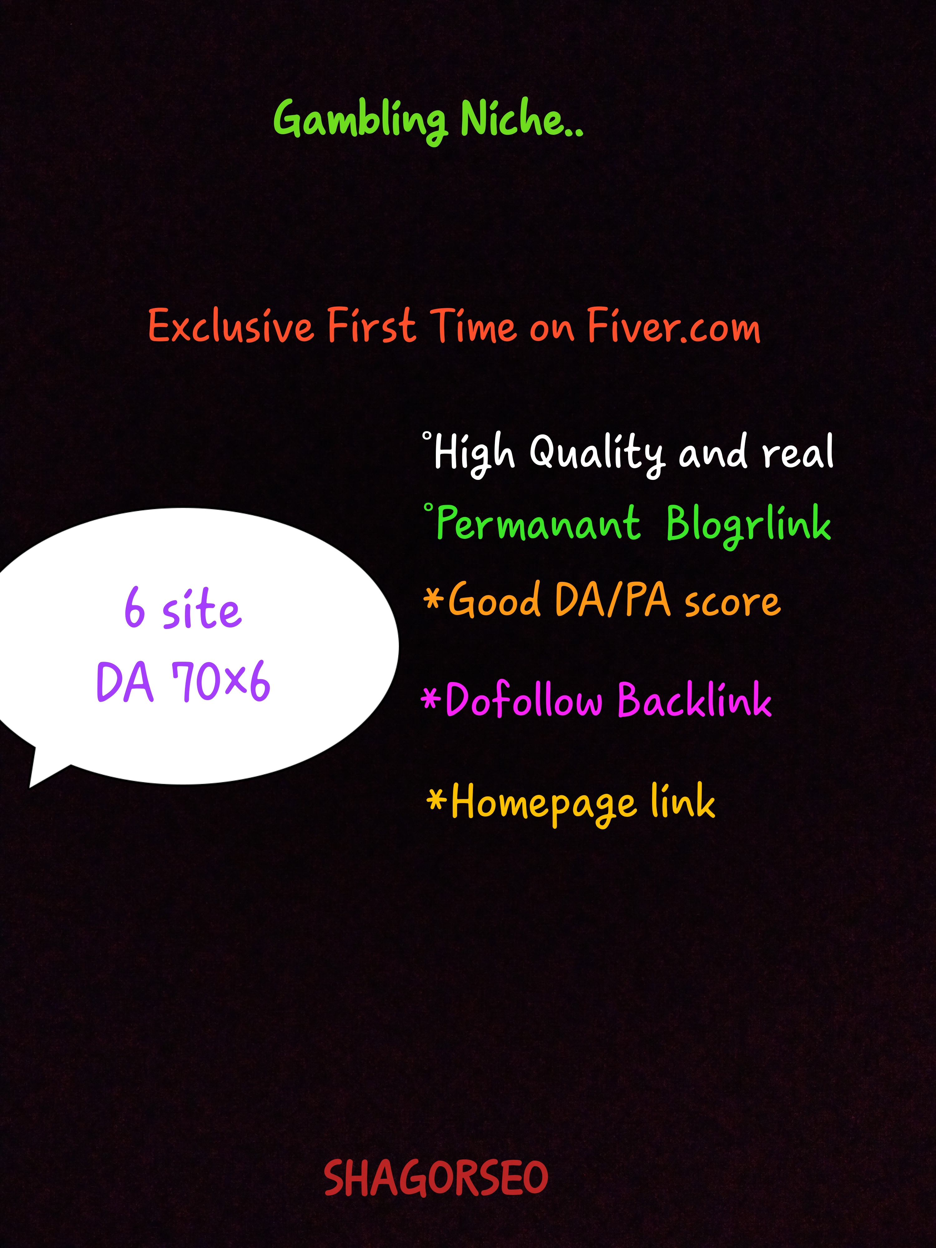 60 CASINO/POKER gambling, judi bola relate PBN backlink with blog post and google fast page ranking