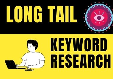 Long Tail Keyword Research with KGR on website