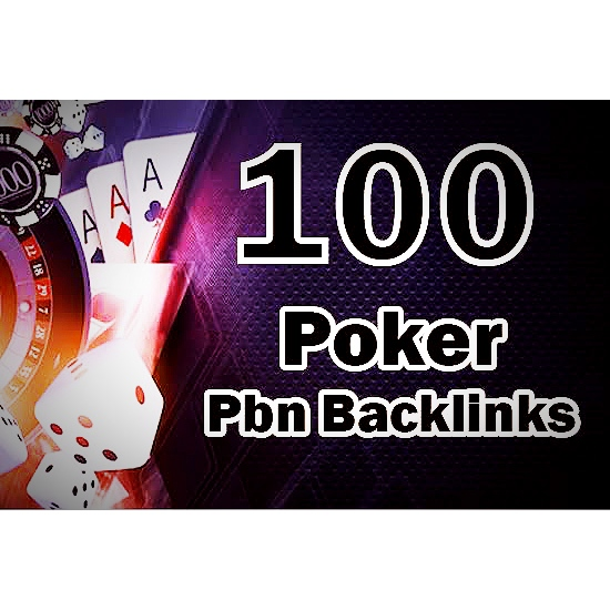 100 Powerful Casino Poker PBN Backlinks will increase your website