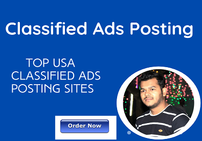 I will post your ad to top 100 USA classified ad posting sites