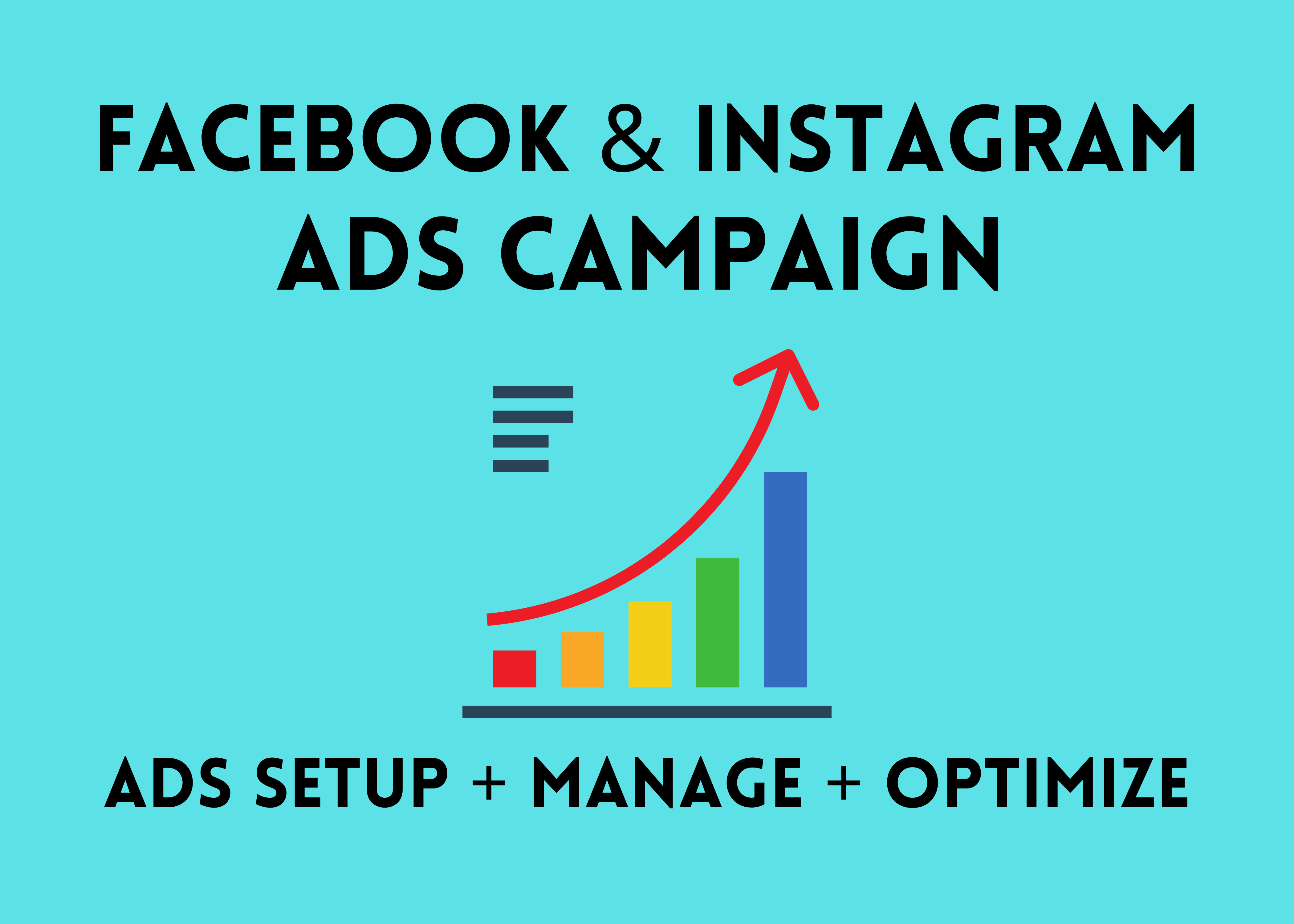 I will be facebook ads manager for your business