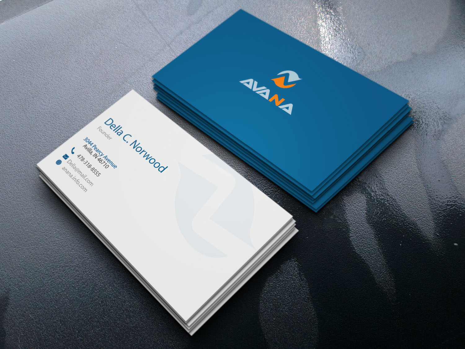 I will provide professional business card for you or your business